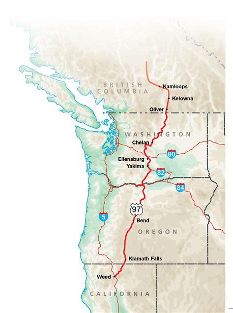 map of oregon deserts high desert highway www trailerlife