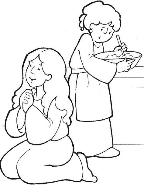 free bible coloring pages and martha 17 best images about and martha coloring pages on