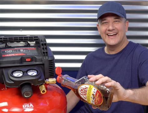 tool talk  craftsman  gal air compressor chris duke