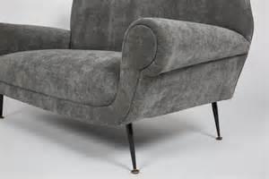 italian mid century modern velvet sofa at 1stdibs