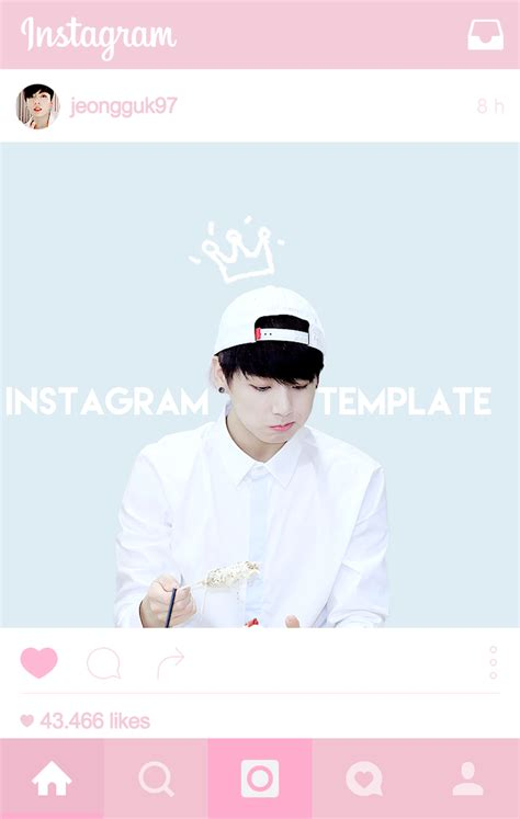Bangtan Plaza Instagram Post Template Psd
