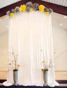 wedding backdrop 30 alternative wedding backdrops home design and interior