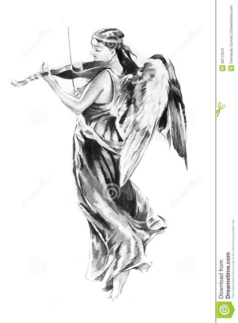 sketch of tattoo art jesus christ stock illustration