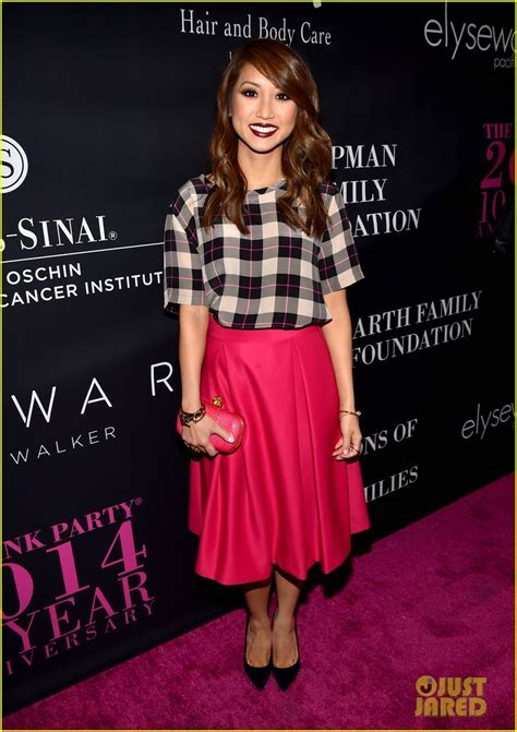 Shay Mitchell & Brenda Song Style it Up for the Pink Party