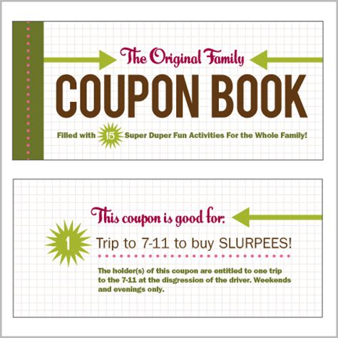 coupons for my books for way later coupon books