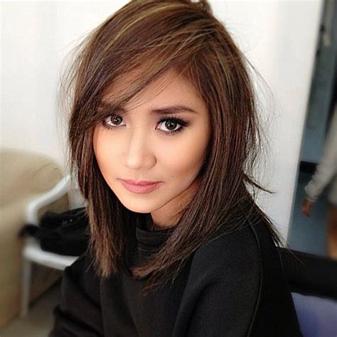 filipina layered bob hair cut gelalaurel popstarprincess sarahgeronimo sarah