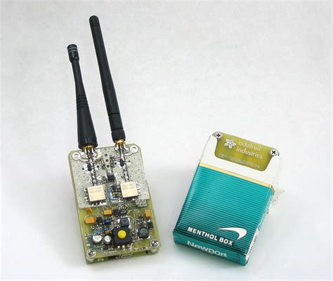 Gamis Khz 01 by Self Tuning Portable Rf Jammer Disguised As Menthol Cigs