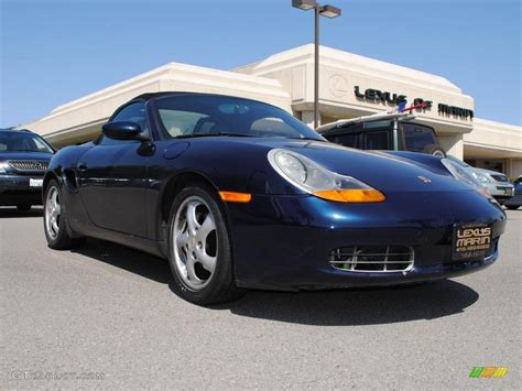 blue porsche boxster 1997 blue metallic porsche boxster 28462024 photo