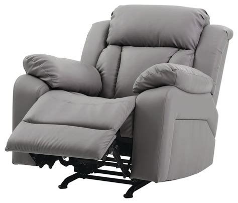 leather rocker recliner chairs springfield rocker recliner beige faux leather recliner