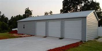 Metal Shed Garage Building Metal Buildings Metal Garage Building