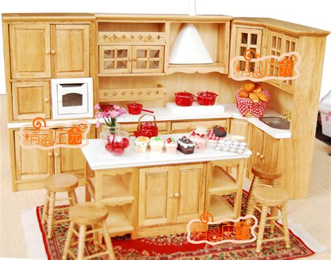 1 12 miniature home furniture mini toy kitchen room set 1 12 doll house mini dollhouse furniture miniature 8