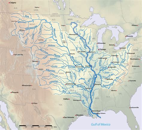 us map states mississippi river mississippi river american rivers