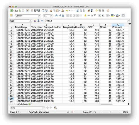 csv format spreadsheet netatmo personal weather station for ios and android