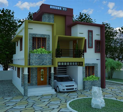 contemporary model home plans kerala model home plans