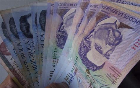 Minimo Jb salario m 237 nimo para 2016 aument 243 1 503 pesos diarios