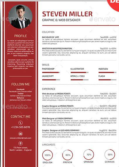 page layout en francais exemple mise en page cv mod 232 le cv fran 231 ais gratuit jaoloron