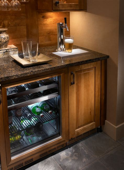 built in kegerator glamorous mini kegerator decorating ideas for family room