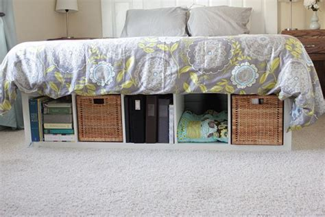 Ikea Expedit Bed Frame 25 Ikea Kallax Or Expedit Shelf Hacks Hative