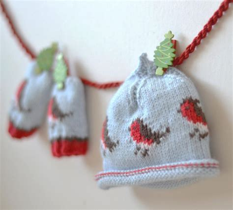 knitting pattern christmas robin editor s choice christmas robin beanie and mittens by
