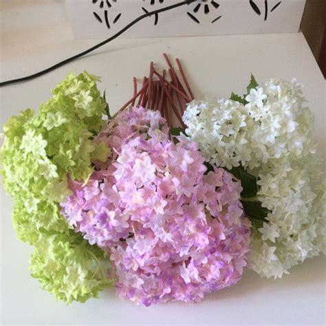 36 Pcs Artificial Silk Hydrangea Flower Floral Wedding 24 Pcs Silk Hydrangea Wedding Arrangement Artificial Flowers