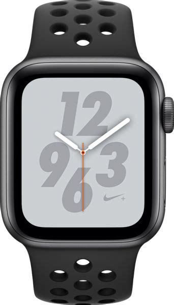 Apple Series 4 Nike Band by Apple Series 4 Nike 44mm Space Gray Aluminum With Anthracite Black Nike Sport Band