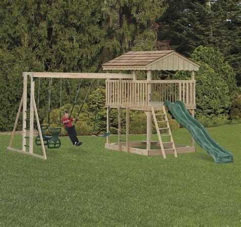 swing swing all american swing sets swing slide playsets wooden playsets html