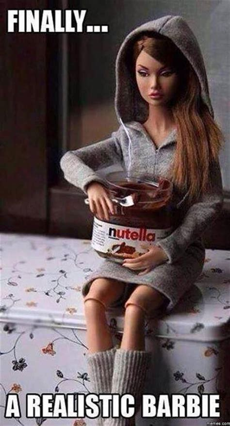 Funny Barbie Memes - finally a realistic barbie
