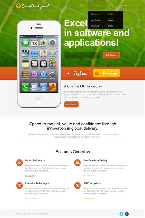 mobile themes apps download 20 best wordpress mobile app themes 2016 smashthemes
