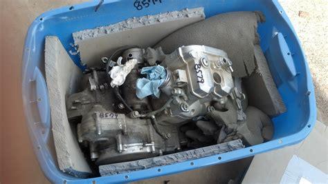 yamaha yzf engine bottom  rebuild yz  specialist parts labor ebay