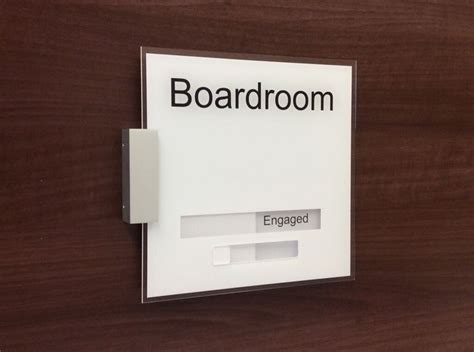 in out sliding office signs office door signs custom