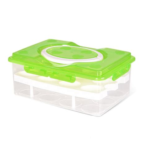 Sale Storage Organizer 24 Grid Box Tempat Pakaian Dalem aliexpress buy 24 grid egg box food container organizer convenient storage boxes