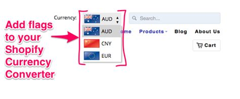 currency converter shopify currency converter with flags for shopify