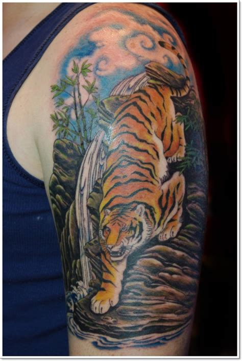japanese tattoo tiger meaning image gallery japanese tiger tattoo meaning
