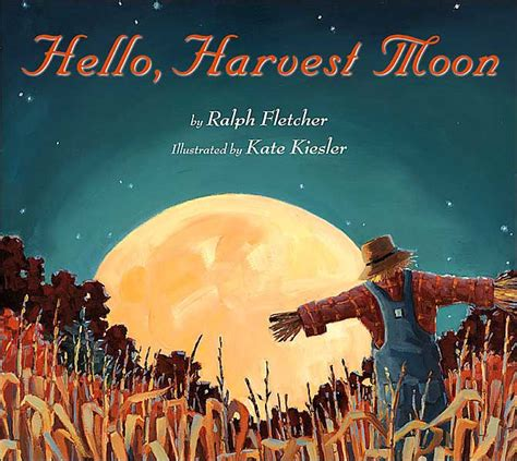 libro fletcher and the falling hello harvest moon by ralph fletcher kate kiesler hardcover barnes noble 174
