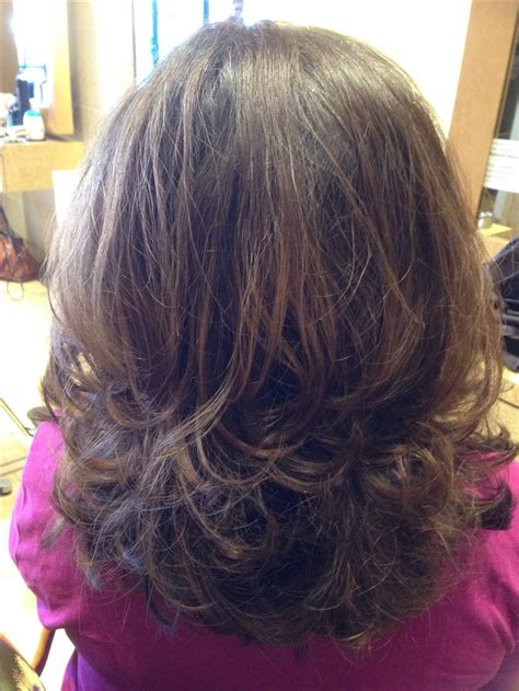 hairstyles for fine hair but lots of it medium hair cut with lots of layering and texture
