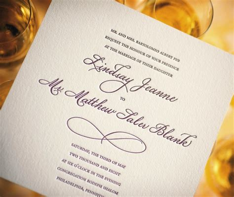 Wedding Invitation Letter Type 8 Guidelines To Select The Font For Designs Designer Mag