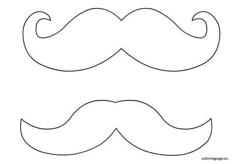 best 25 mustache template ideas on moustache