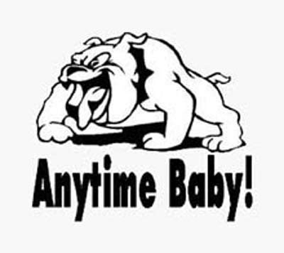 judy s puppy nursery anytime baby vinyl sticker decal