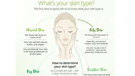 skin care how to determine your skin type oily dry etc how to know your skin type how to identify skin type
