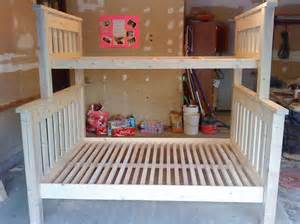 Plans For Building A Twin Over Full Bunk Bed by 25 Diy Bunk Beds With Plans Guide Patterns