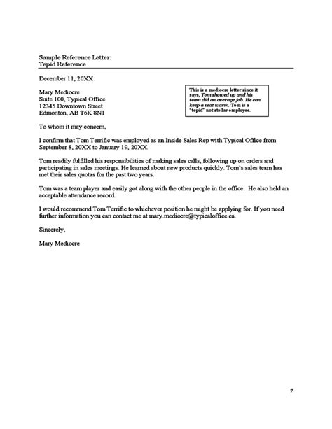 Letter Of Recommendation Uw reference letters of alberta free