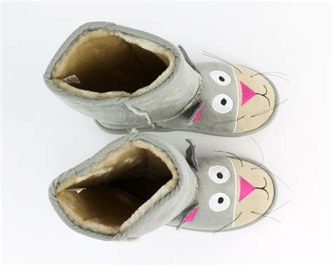 toddler cat slippers toasty toez cat slippers cat boot slippers