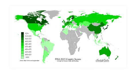 test invalsi test invalsi la mappa dei pi 249 bravi a scuola nel mondo