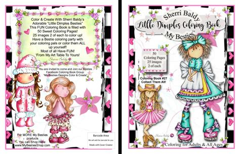 a faith besties coloring book books coloring books signed copies by the artist sherri baldy