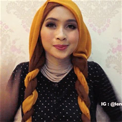 tutorial hijab gif when skies are grey you re pink lemondade