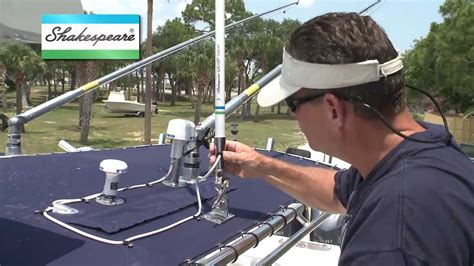 troubleshooting  marine antenna installation youtube