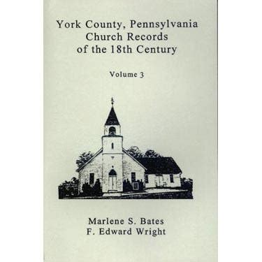 York Pa Records York County Pennsylvania Church Records Of The 18th Century Vol 3 Masthof