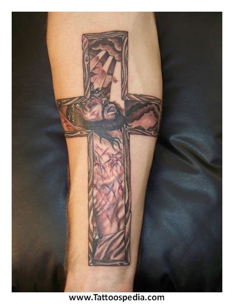 cross tattoos with jesus inside cross cross jesus inside 4