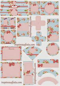 roses shabby chic free printable kit is it for parties