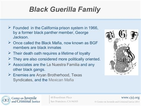 black guerilla family colors fbi issues warning black prison is targeting white cops